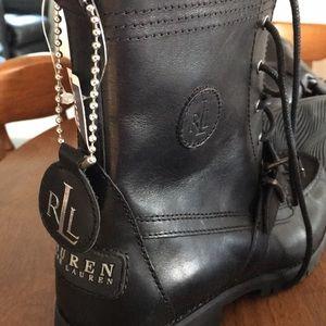 Ralph Lauren Leather boots